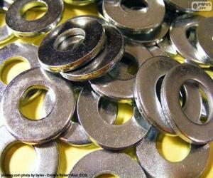 Puzzle Arruelas métalliques