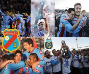 Puzzle Arsenal Football Club, Champion Clausura 2012, Argentine