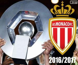 Puzzle AS Monaco champion 2016-2017