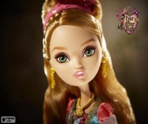 Puzzle Ashlynn Ella, la fille de Cendrillon