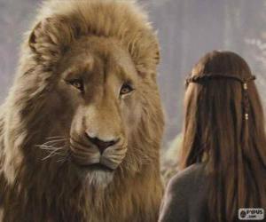 Puzzle Aslan parle à Lucy