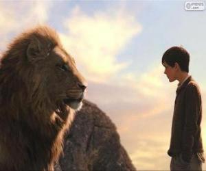 Puzzle Aslan parler à Edmund