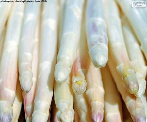 Puzzle Asperges blanches