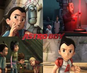 Puzzle AstroBoy ou Astro Boy, avec des amis