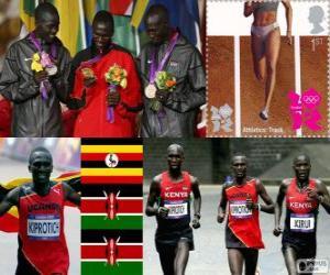 Puzzle Athlétisme marathon hommes LDN12