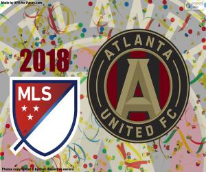 Puzzle Atlanta United MSL Cup 2018