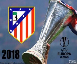 Puzzle Atletico Madrid, Europa League 2018