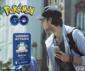 Puzzle Attaqués, Pokémon GO