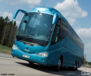 Puzzle Autobus de luxe