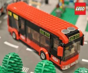Puzzle Autobus urbain de Lego