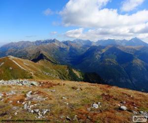 Puzzle Automne en haute montagne