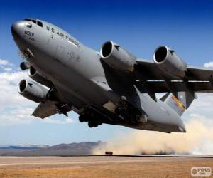 Puzzle Avions militaires Boeing C-17 Globemaster III