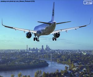 Puzzle Avions qui arrivent à leur destination