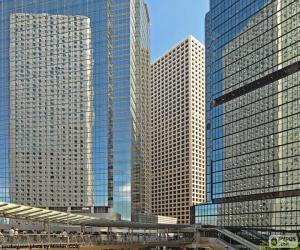 Puzzle Bâtiments de Hong Kong