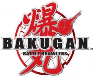 Puzzle Bakugan Logo