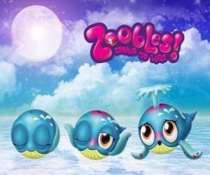Puzzle Baleine, Zoobles de Seagonia