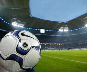 Puzzle Balle dans un stade de football
