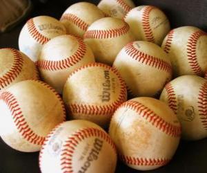 Puzzle Balles de baseball