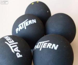 Puzzle Balles de squash
