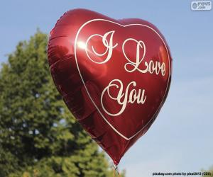Puzzle Ballon d'amour