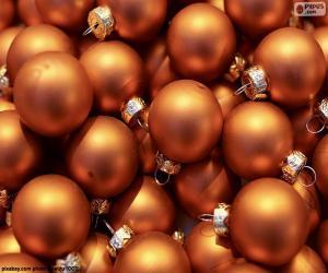 Puzzle Ballon d'or de Noël