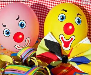 Puzzle Ballons de clown