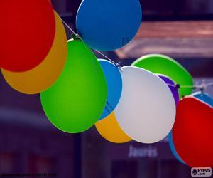 Puzzle Ballons de fête