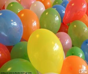 Puzzle Ballons pour une fête