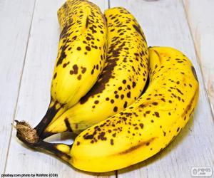 Puzzle Bananes mûres