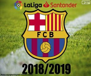 Puzzle Barça, champion 2018-2019