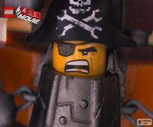 Puzzle Barbe d'Acier, un pirate qui veut se venger sur Lord Business