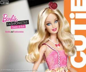 Puzzle Barbie Fashionista Cutie
