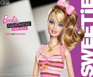 Puzzle Barbie Fashionista Sweetie