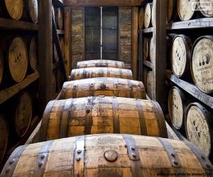 Puzzle Barils de whisky