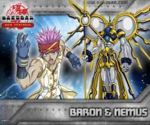 Puzzle Baron Leltoy et son Nemus Bakugan