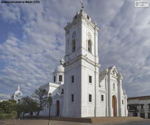 Puzzle Basilique de Santa Marta, Colombia