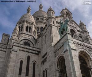 Puzzle Basilique du Sacré-coeur, Paris