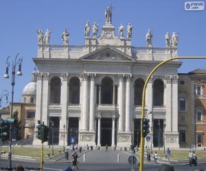 Puzzle Basilique Saint-Jean-de-Latran, Rome