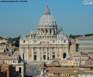 Puzzle Basilique Saint-Pierre, Vatican
