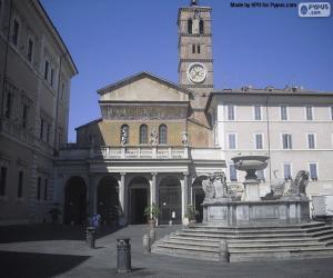 Puzzle Basilique Sainte-Marie-du-Trastevere, Rome