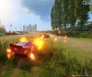 Puzzle Bataille, jeu vidéo Cars 3