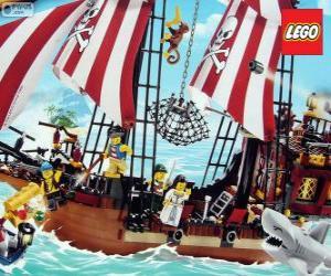 Puzzle Bateau pirate de Lego