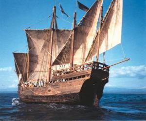 Puzzle Bateau pirate grand
