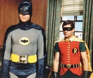 Puzzle Batman et Robin