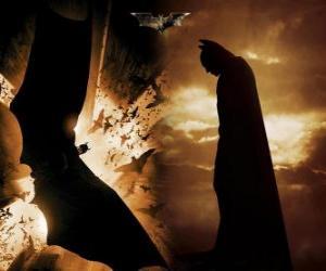 Puzzle Batman, l'homme chauve-souris