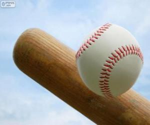 Puzzle Batte et balle de baseball