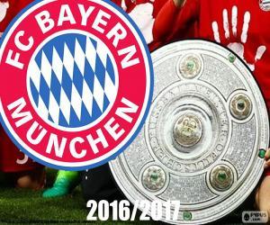 Puzzle Bayern Múnich, champion 2016-2017