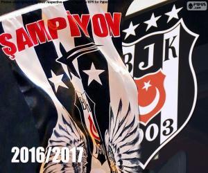 Puzzle Beşiktaş, champion 2016-2017