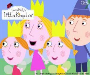 Puzzle Ben et Holly avec Daisy et Poppy