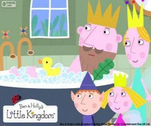 Puzzle Ben et Holly avec les rois